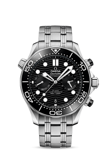 Omega Seamaster 210.30.44.51.01.001 DIVER 300M CO‑AXIAL MASTER CHRONOMETER CHRONOGRAPH 44 MM